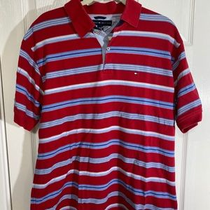 TOMMY HILFIGER Red/WhiteBlue Polo